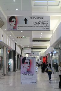 Mall Ads, East Point Shopping Centre, Katy Perry, Mall Advertising
