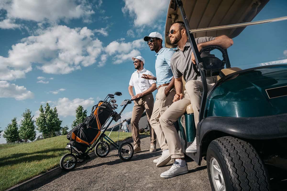 Golf Ads Cart