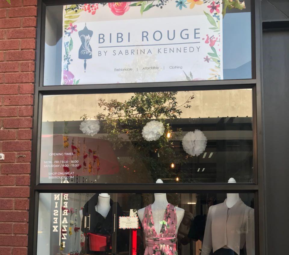 Pop Up Store, Mall Ads, Bibi Rouge