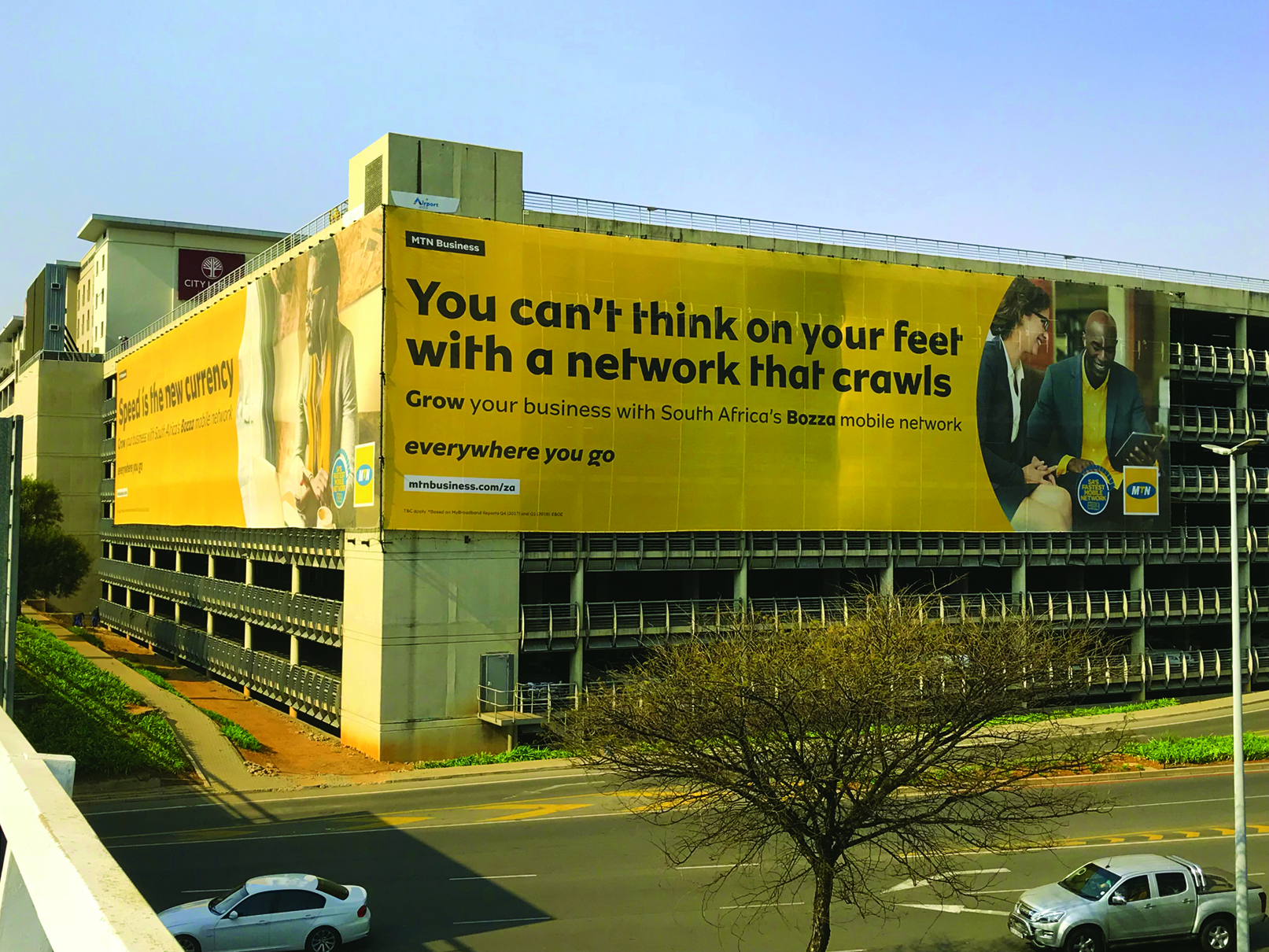 MTN Airport Advertising