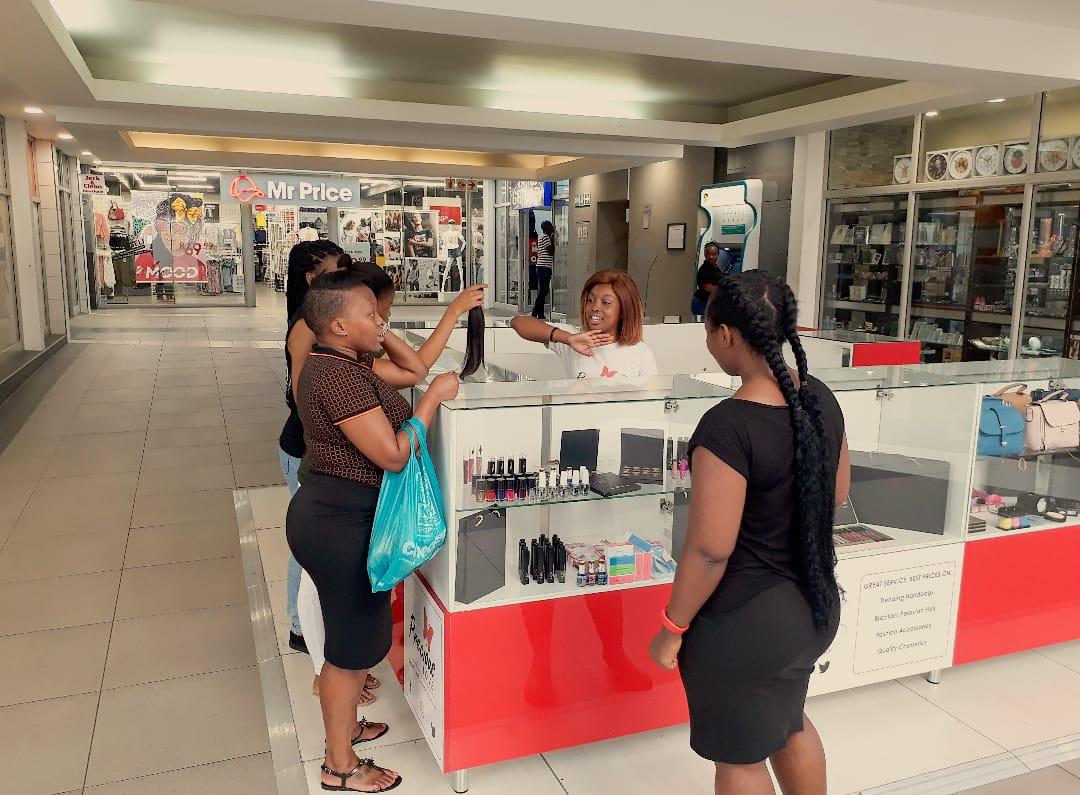 Mall Ads Retail Sales Kiosk
