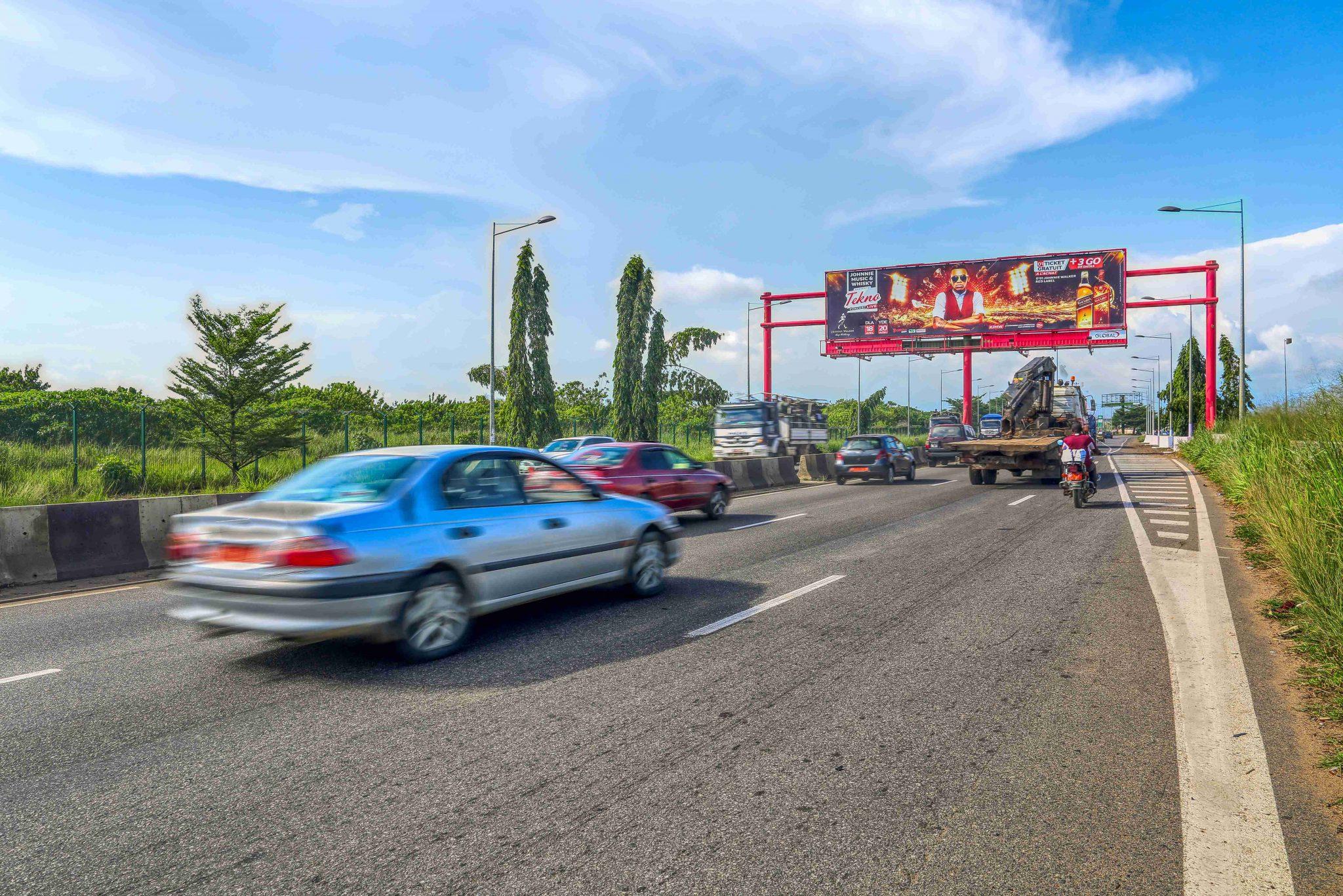 Solar Billboard Douala Cameroon