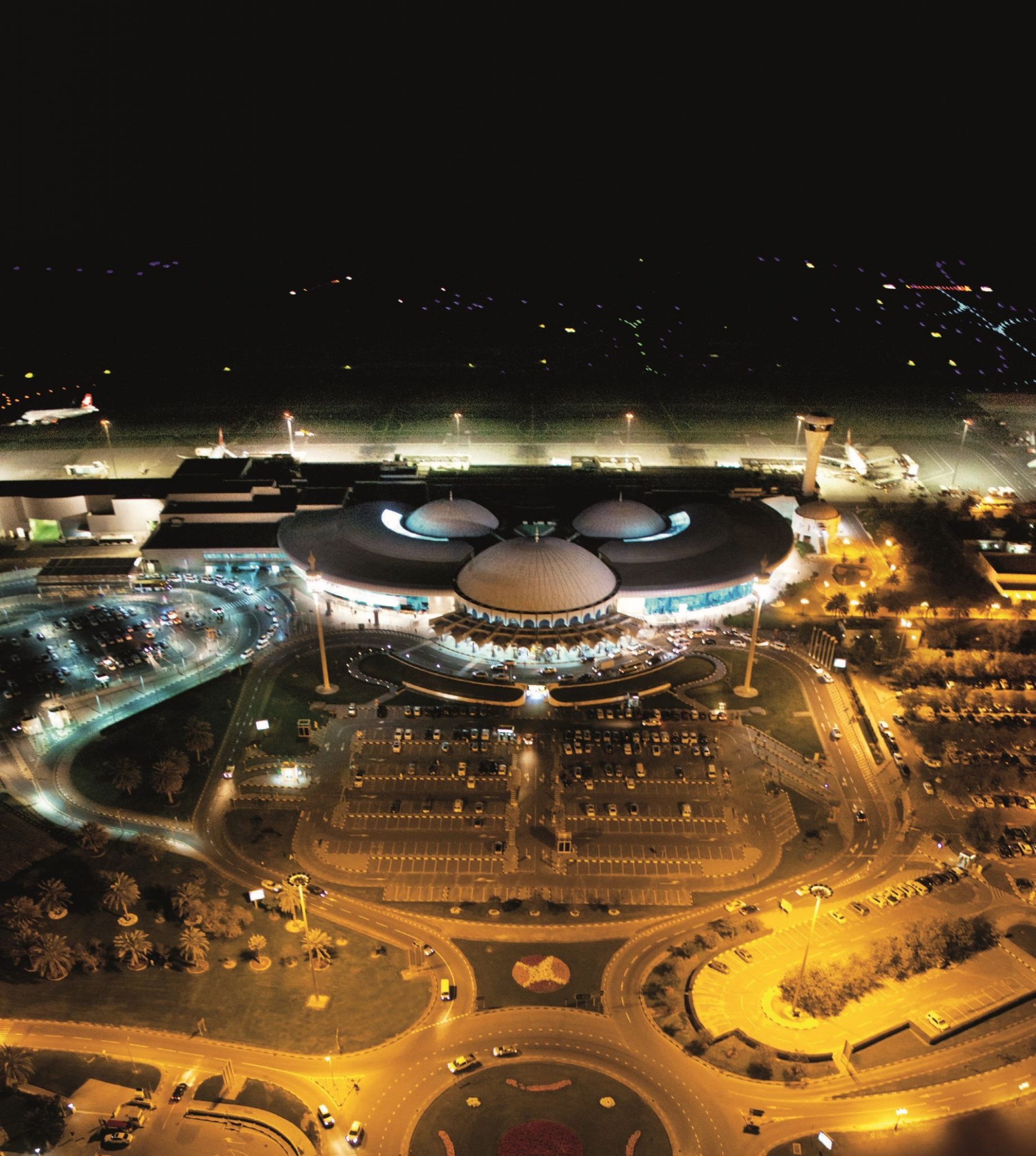 Sharjah Airport night shot